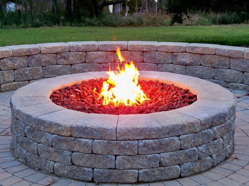 gas fire pit, gas fire pits, natural gas fire pit, fire feature, gas fire feature, natural gas fire feature