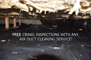 FREE Crawl Inspection with HVAC Duct Cleaning Services